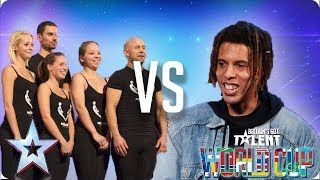 KNOCKOUT MATCH: Attraction vs Tokio Myers | Britain's Got Talent World Cup 2018 - Video Youtube