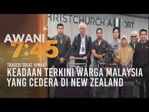 Keadaan terkini warga Malaysia yang cedera di New Zealand