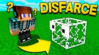 ESCONDE-ESCONDE COM DISFARCE DE VIDRO NO MINECRAFT !! - ( Minecraft Esconde-Esconde )