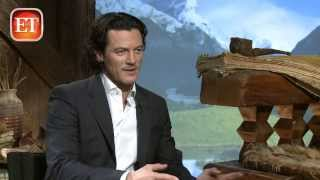 Люк Эванс, Luke Evans Gives Preview of The Crow & Dracula Untold