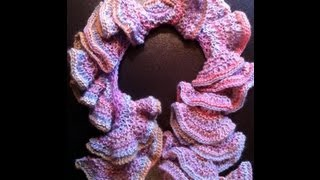 How to Knit a Spiral Scarf