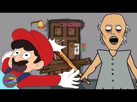 GRANNY THE HORROR GAME ANIMATION # NEW (видео)