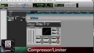 Using the Compressor/Limiter in PRO TOOLS