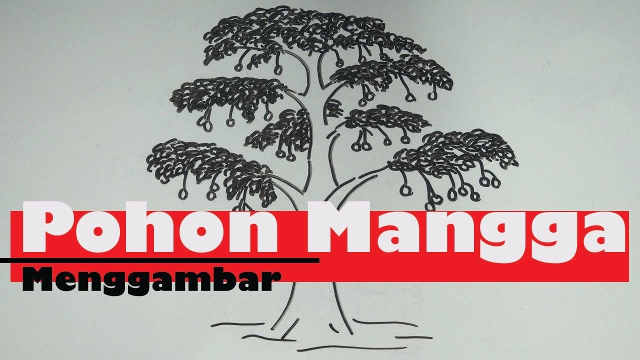 Cara Menggambar Pohon Mangga Psikotes Cara Menggambar