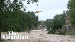 Deadly floods sweep through south-west France