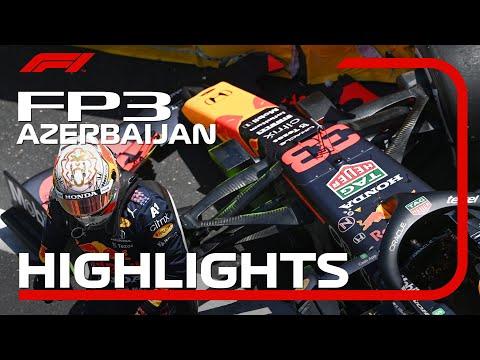 F1 アゼルバイジャンGP 市街地コースで行われるあアゼルバイジャンのFP3ハイライト動画