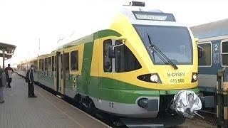 preview picture of video 'Új motorvonat jár december közepétől a Sopron-Szombathely-Szentgotthárd vasútvonalon'