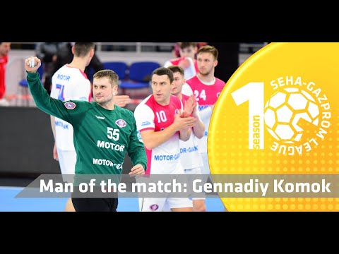 Gennadiy Komok locked his net in the match versus Vardar 1961! I Motor Zaporozhye vs Vardar 1961