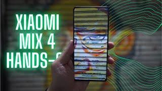 Xiaomi Mix 4 Hands-On: Snapdragon 888+, Under-Screen Selfie Cam!