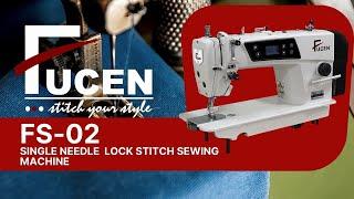 fucen FS 02 single-needle lockstitch sewing machine