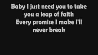 David Charvet - Leap Of Faith (Lyrics)