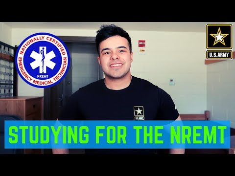 HOW TO STUDY FOR THE NREMT | 68W (COMBAT MEDIC) EMT PHASE