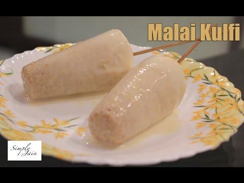 Video Malai Kulfi Recipe | How To Make Kulfi Ice Cream | Simply Jain