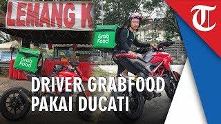 Viral Driver GrabFood Pakai Motor Ducati Ratusan Juta: Kalau Pakai Ducati Bisa Sedikit Lebih Cepat
