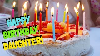 Birthday Wishes For Daughter From Mom - Happy Birthday, Daughter