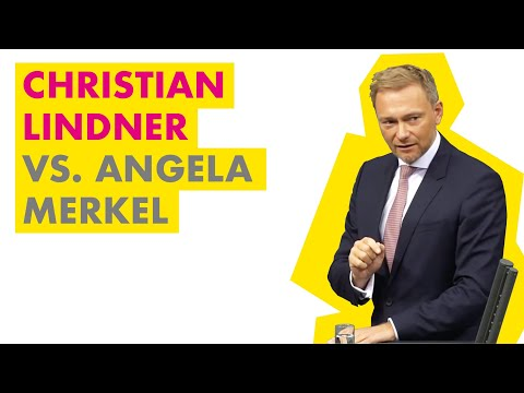 Christian Lindner vs. Angela Merkel