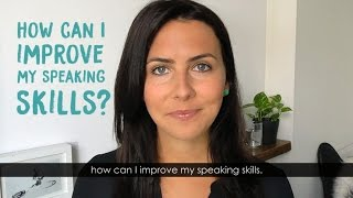 Improve Your English Speaking Skills | The Imitation Technique