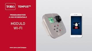 Modulo WiFi per l'irrigazione Toro TEMPUS _ Italiano
