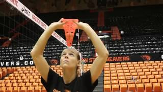 AVCA Video Tip Of The Week: Cone Forehead Setting Drill