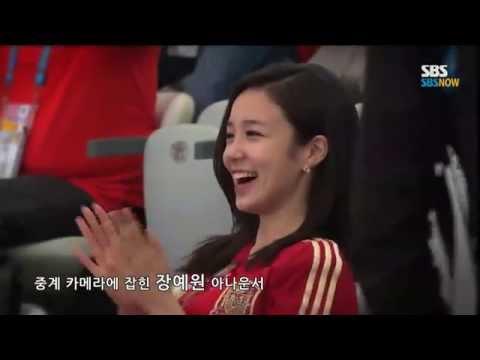 Bonus thêm video của em phóng viên Hàn có nụ cười xinh như mộng