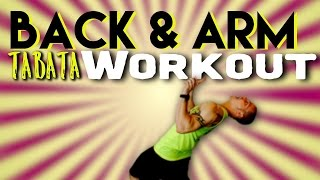"BACK & ARM WORKOUT ""amrap style"" by Trainer Ben"