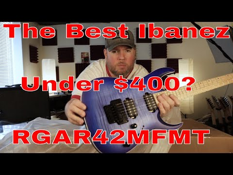 Best Ibanez Under $400? RGAR42MFMT  Line 6 Powercab Plus