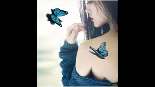 BEST BUTTERFLY TATTOO DESIGNS For GIRLS 2019   NEW BUTTERFLY TATTOO   TATTOO   Trending Spot