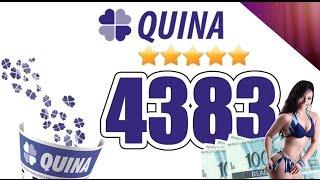 Quina Sorteio N° 4383