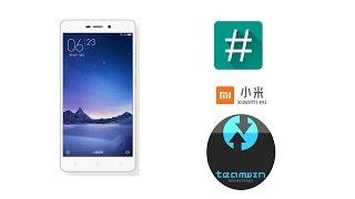 Instalar TWRP, MIUI 8 Español Y Root En Xiaomi Redmi 3s