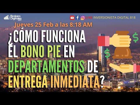 , title : '¿CÓMO FUNCIONA EL BONO PIE EN DEPARTAMENTOS DE ENTREGA INMEDIATA?