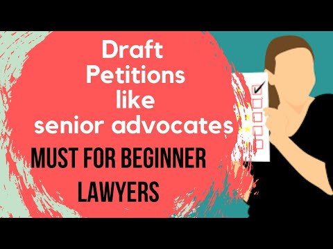 Legal drafting for beginners: Avoid some common drafting mistakes| Litigation in India|Litigation