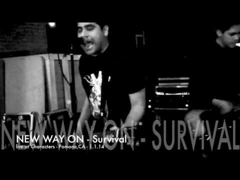 New Way On - Survival (live at Characters, 1/1/14)