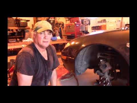 Replacing Front Wheel Bearing on Chrysler 300M (and similar cars) Part One