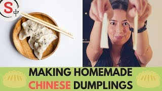 The many types of Chinese dumplings - 饺子(jiǎozi)