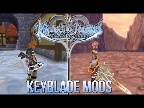 Download Kingdom Hearts Birth By Sleep - Keyblade Mods Mp4 HD Video and MP3