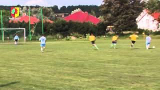 preview picture of video 'Turniej piłkarski zespołów LZS'