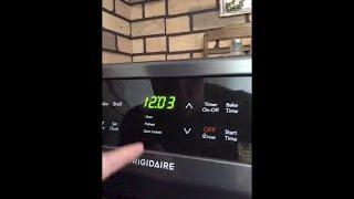 Frigidaire Oven: Door Locked light will not stop flashing.