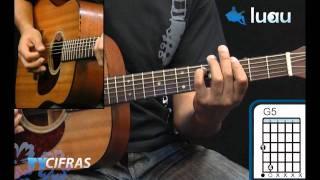 Flores - Titãs - Aprenda a tocar no Luau Cifras (Julien Bacelar)