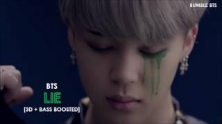 [3D+BASS BOOSTED] BTS (방탄소년단) JIMIN - LIE (HAN/ROM/ENG)   bumble.bts
