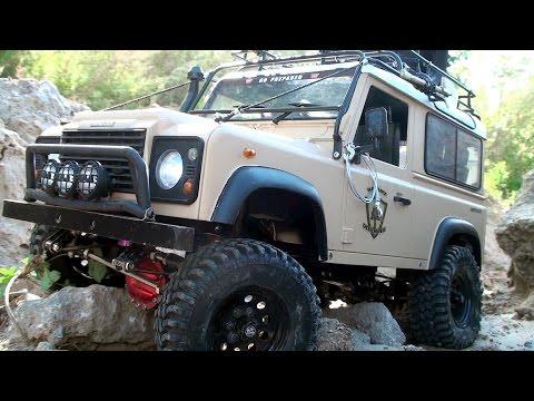 Scale Trucks OFF Road – Land Rover Defender 90 vs Hummer H2 vs Jeep Wrangler Rubicon