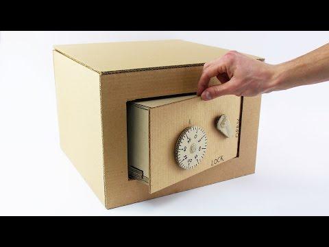 神人用紙箱打造保險箱!完整製作過程大公開~