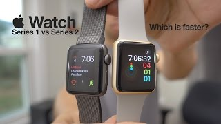 Is Apple Watch Series 2 faster than Series 1?