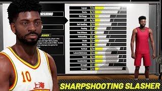 NBA 2K19 PRELUDE! 30 POINT DOUBLE-DOUBLE | SHARPSHOOTING SLASHER CREATION GAMEPLAY! Ep.1