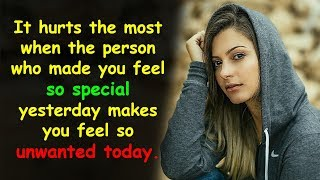 Top Quotes About Being Hurt by Someone Close to You | Being Hurt Quotes and Sayings | Sad Quotes