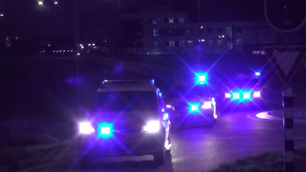 17/11/2020 (Zeer Grote Pelotonbrand) Hulpdiensten massaal onderweg naar brand in Hoek van Holland
