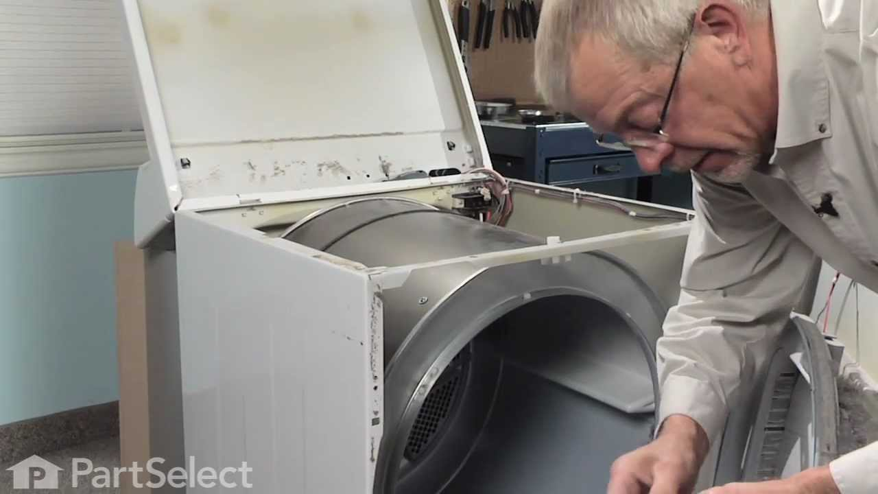 Replacing your Frigidaire Dryer Drum Support Bearing
