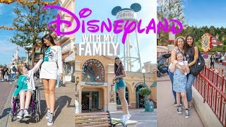 DISNEYLAND PARIS WITH MY FAMILY! DISNEY VLOG
