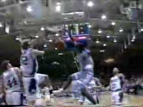 Video: Jerry Stackhouse reverse dunk at Duke