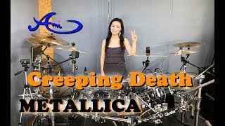 METALLICA - Creeping Death drum cover by Ami Kim (44th)