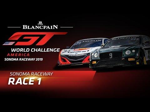 RACE 1 - Sonoma - Blancpain Gt World Challenge - America. CBS